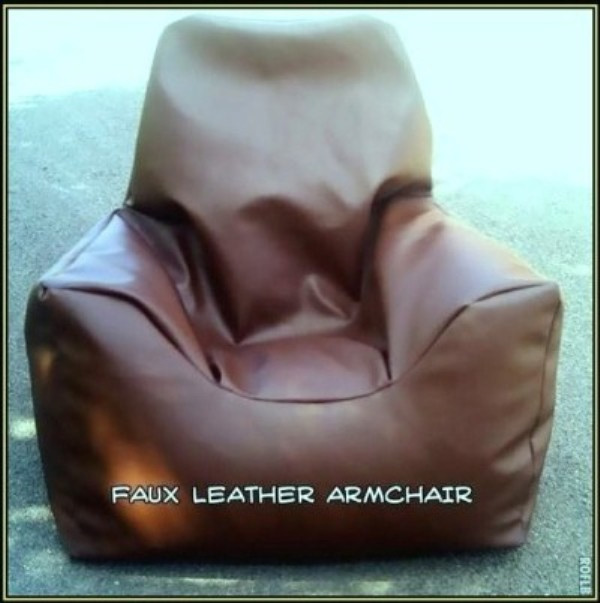Zippy Uk Ltd Faux Leather Armchair