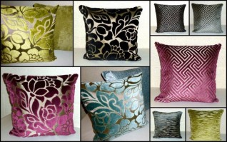 CLARKE & CLARKE SCATTER CUSHION COVERS