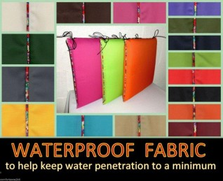 FLORAL PIPED WATERPROOF PADS