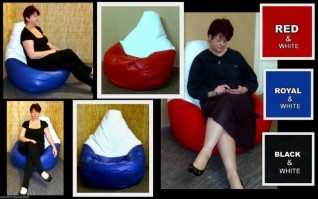 FOOTIE BEANBAG CHAIRS