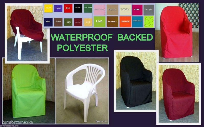 PLASTIC CHAIR LOOSE COVERS