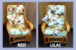 ROSE CANE FURNITURE COVERS