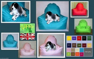 SMALL CHAIR DOG BED