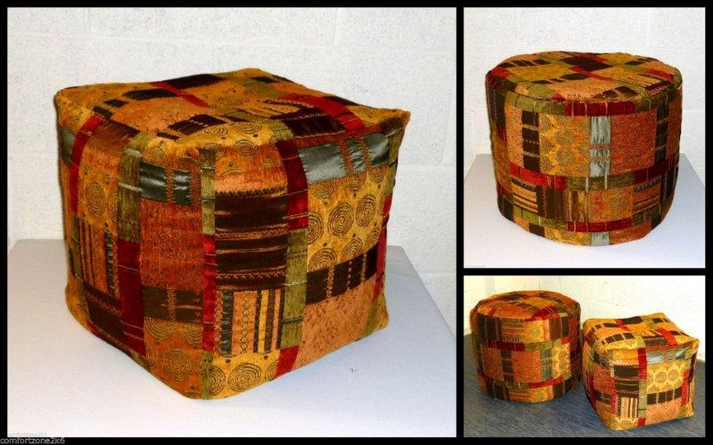 TAPESTRY FOOTSTOOLS