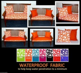 TULIP WATERPROOF BENCH CUSHIONS