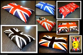UNION JACK BEANBAG DOG BEDS