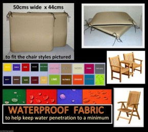 WATERPROOF BUDGET CHAIR CUSHIONS