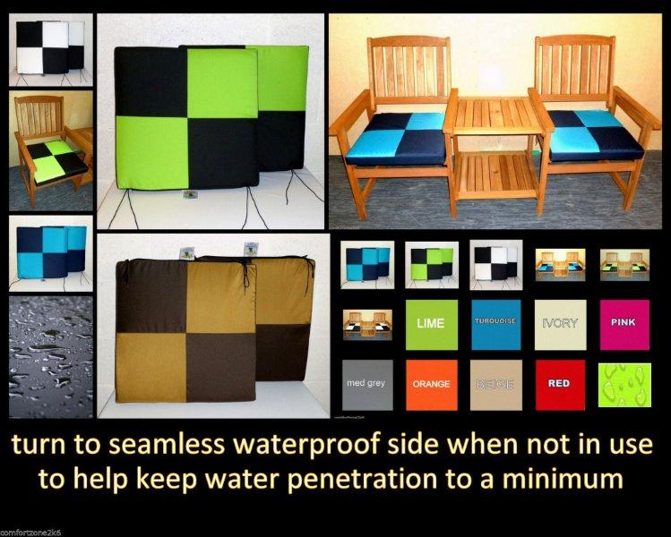 WATERPROOF CHECK CUSHIONS
