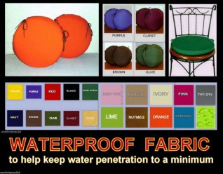 WATERPROOF ROUND CUSHIONS