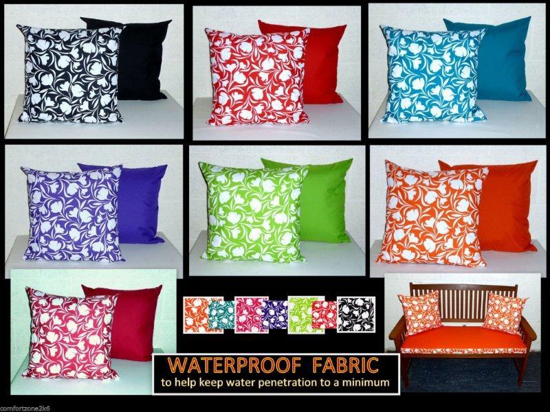 Zippy, Waterproof Garden Seat Cushion Covers