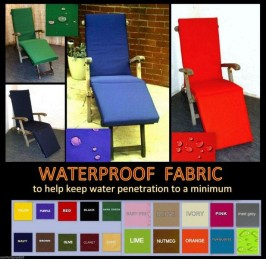 WATERPROOF STEAMER CHAIR CUSHIONS