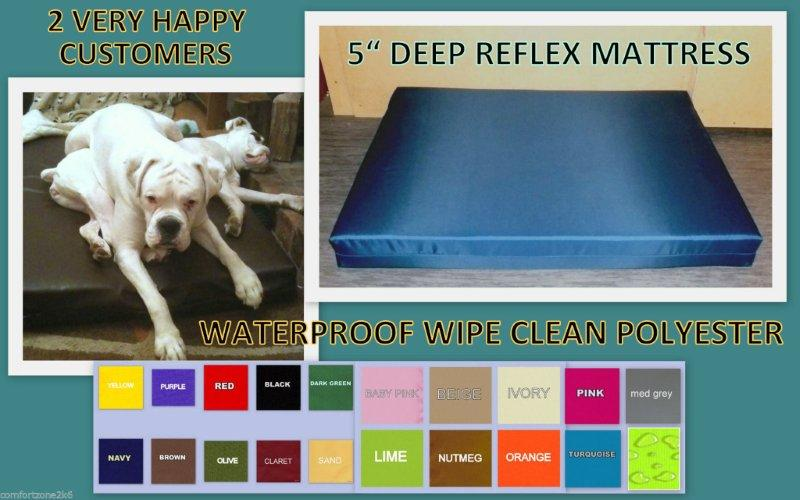 WP MATTRESS DOG BED