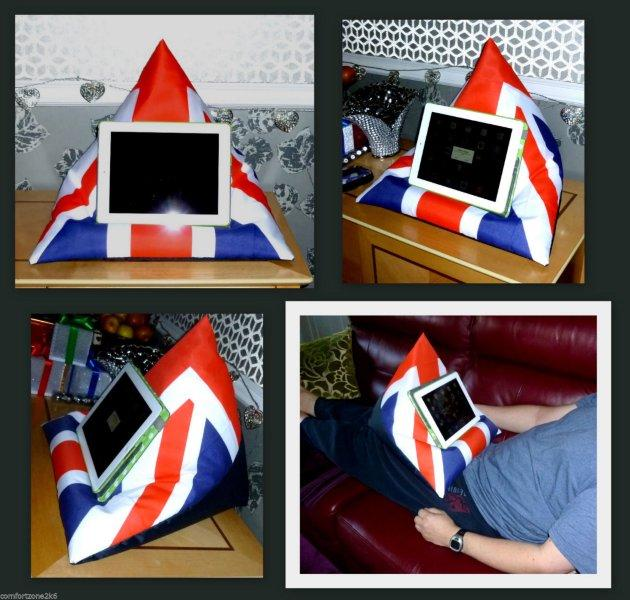 iPAD BEANBAG LAP CUSHION